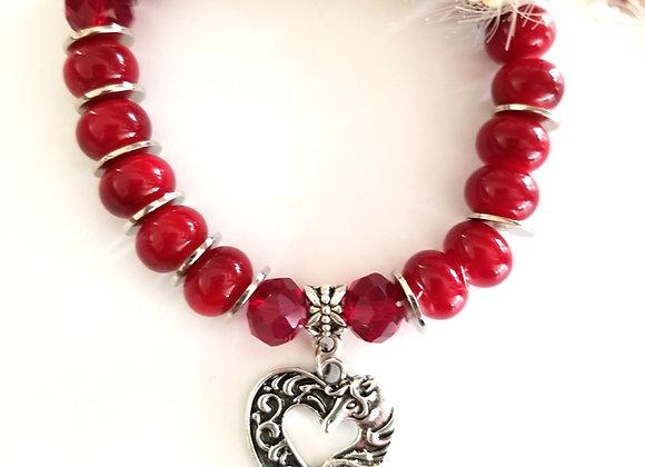 Sweet Beads &  Horse Heart Bracelet