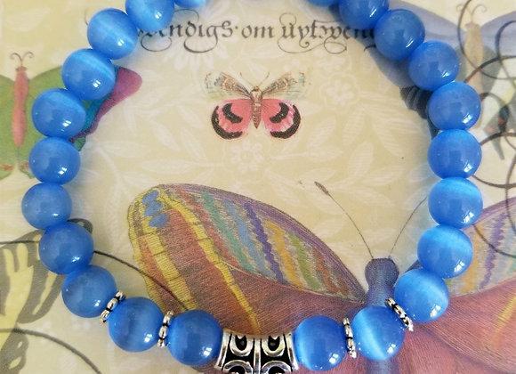 Blue Opal Horse Bracelet