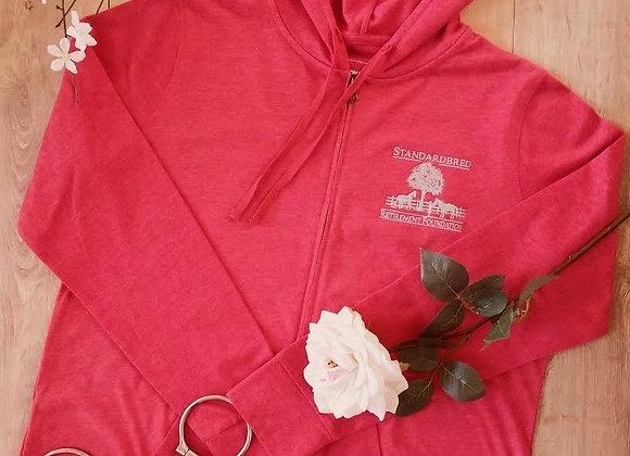 🍓 Dark Strawberry-red Spring Zip