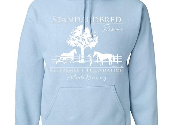 Baby Blue SRF Logo Hooded Sweatshirt