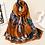 Thumbnail: Pure Silk Scarf-Rich Brown Beauty!