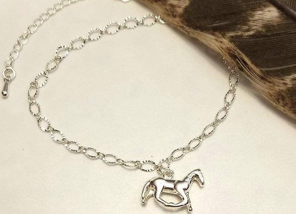 Sterling Silver- Ankle Bracelet!