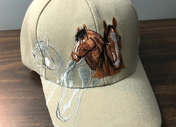 Horse Lovers Hat - Tan