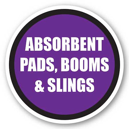 DuraStripe - Circular Safety Signs / Absorbent Pads, Booms & Slings