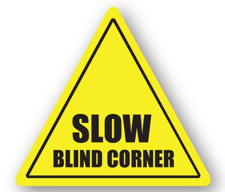 DuraStripe - Warning Signs / Slow Blind Corner