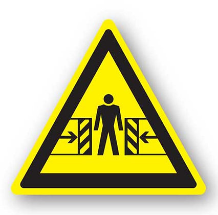 DuraStripe - Warning Signs / Body Crush Hazard
