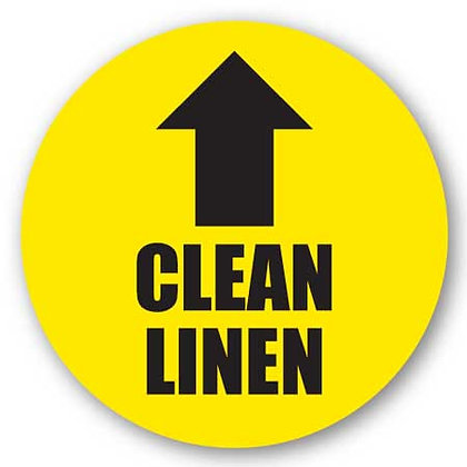 DuraStripe - Circular Safety Signs / Clean Linen