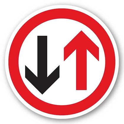 DuraStripe - Circular Safety Signs / Arrows