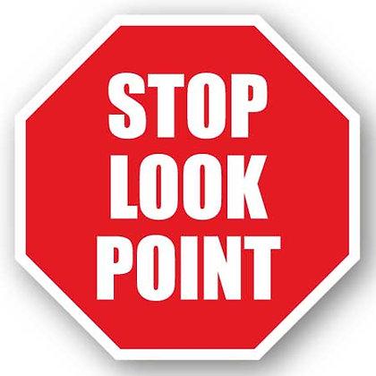 DuraStripe - Stop Signs / Stop Look Point