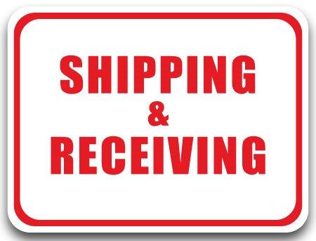 DuraStripe - Rectangular Safety Signs / Shipping & Receiving
