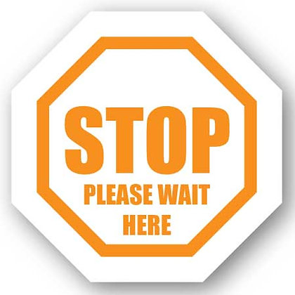 DuraStripe - Stop Signs / Stop Please Wait Here