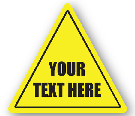 DuraStripe - Warning Signs / Your Text Here - Custom