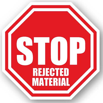 DuraStripe - Stop Signs / Stop Rejected Materials