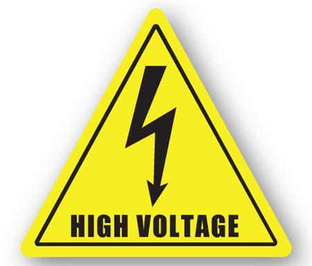DuraStripe - Warning Signs / High Voltage