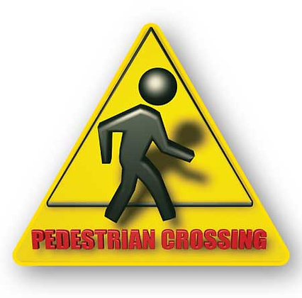 DuraStripe - Warning Signs / Pedestrian Crossing 3D