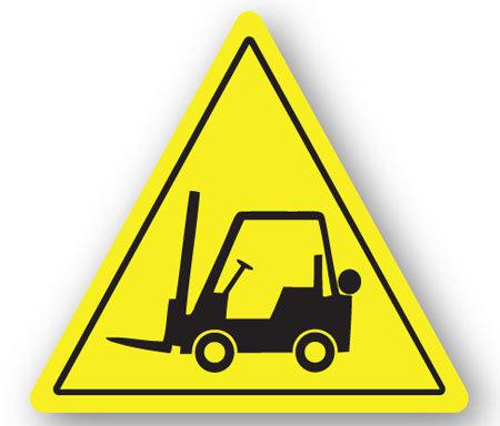 DuraStripe - Warning Signs / Forklift