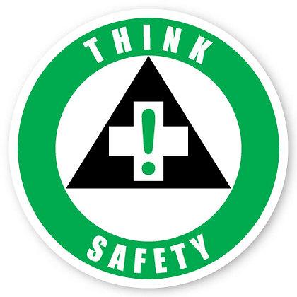 DuraStripe - Circular Safety Signs / Think Safety