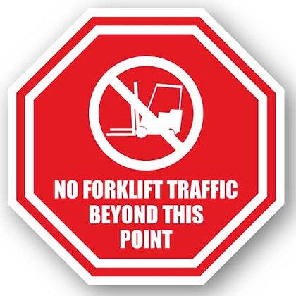 DuraStripe - Stop Signs / No Forklift Traffic