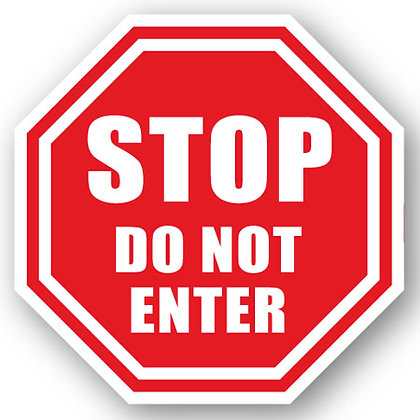 DuraStripe - Stop Signs / Stop Do Not Enter