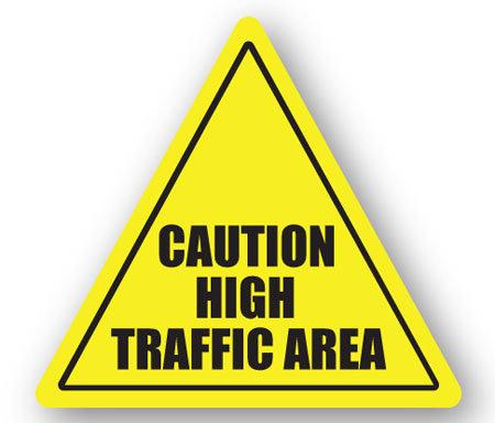DuraStripe - Warning Signs / Caution High Traffic