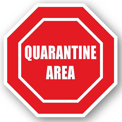 DuraStripe - Stop Signs / Quarantine Area