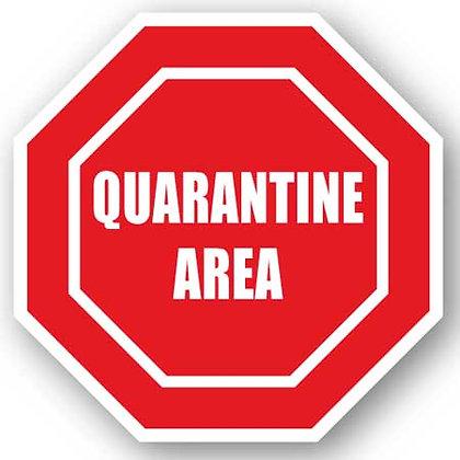 DuraStripe - Stop Signs / Quarantine Area