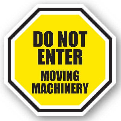 DuraStripe - Stop Signs / Do Not Enter Moving Machinery