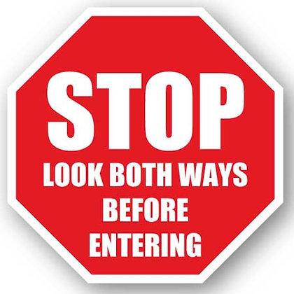 DuraStripe - Stop Signs / Stop Look Both Ways
