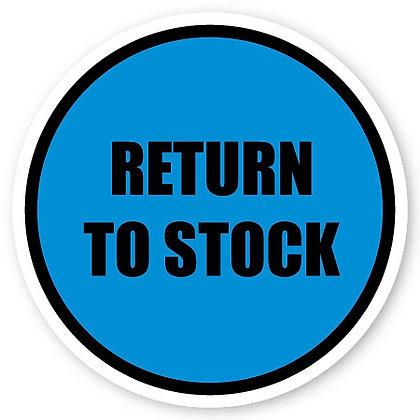 DuraStripe - Circular Safety Signs / Return to Stock