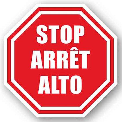 DuraStripe - Stop Signs / Stop,Arret,Alto