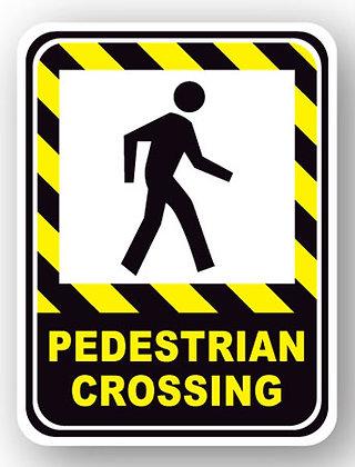 DuraStripe - Rectangular Safety Signs / Pedestrian Crossing