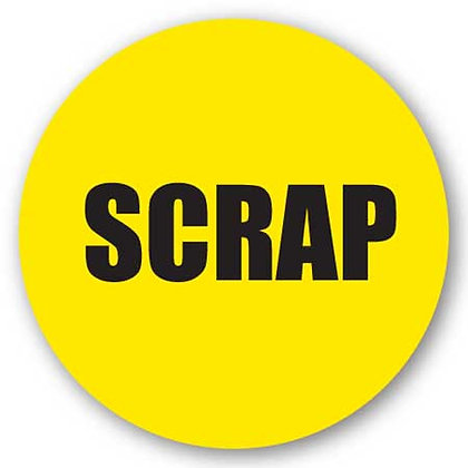 DuraStripe - Circular Safety Signs / Scrap