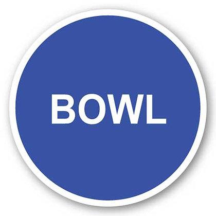 DuraStripe - Circular Safety Signs / Bowl