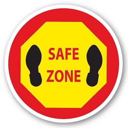 DuraStripe - Circular Safety Signs / Safe Zone