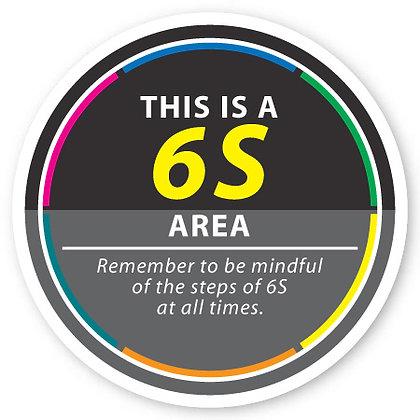 DuraStripe - Circular Safety Signs / 6S Area