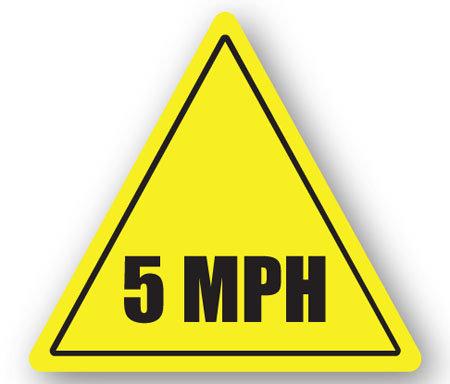 DuraStripe - Warning Signs / 5MPH