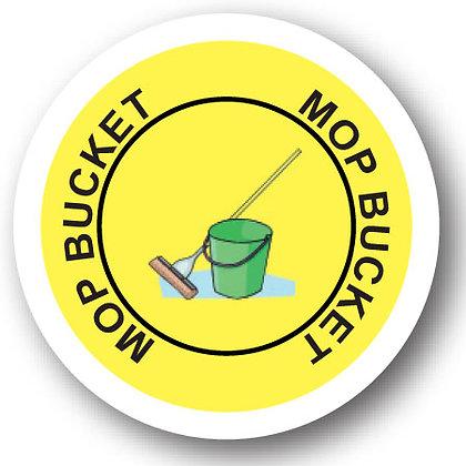DuraStripe - Circular Safety Signs / Mop Bucket