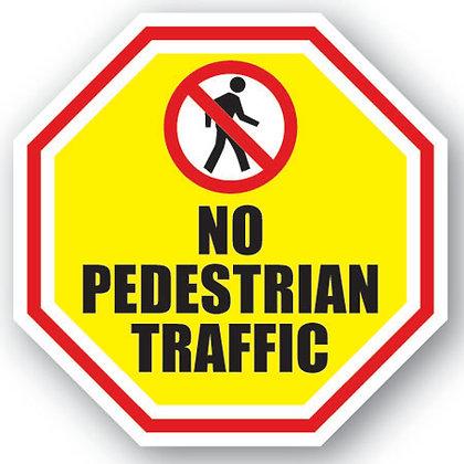 DuraStripe - Stop Signs / No Pedestrian Traffic