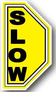 DuraStripe - Side-Stop & Half Signs / Slow Left