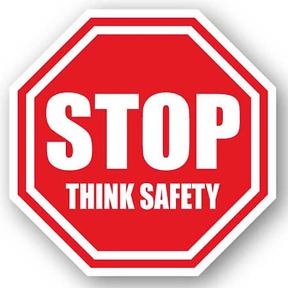 DuraStripe - Stop Signs / Stop Think Safety
