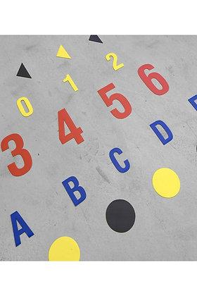 DuraStripe - Numbers & Letters