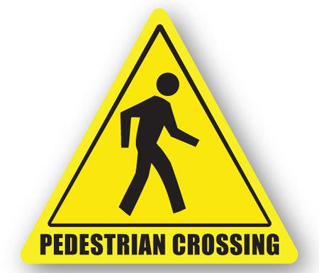 DuraStripe - Warning Signs / Pedestrian Crossing