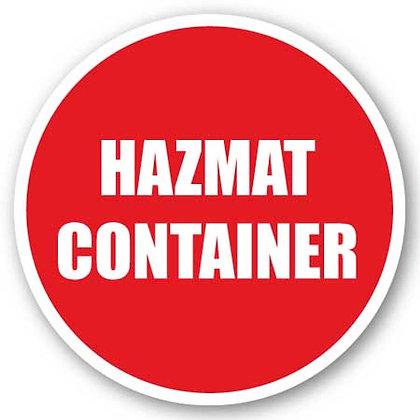 DuraStripe - Circular Safety Signs / Hazmat Container
