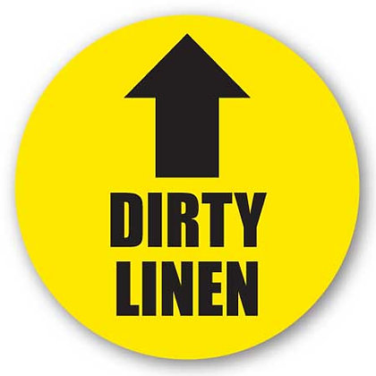 DuraStripe - Circular Safety Signs / Dirty Linen