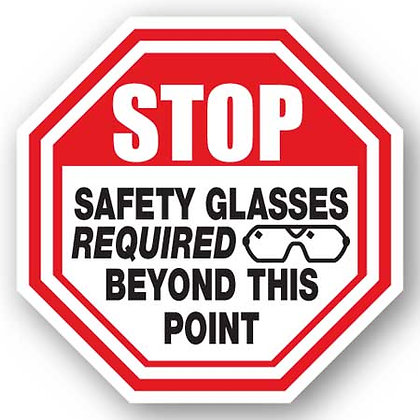 DuraStripe - Stop Signs / Stop Safety Glasses
