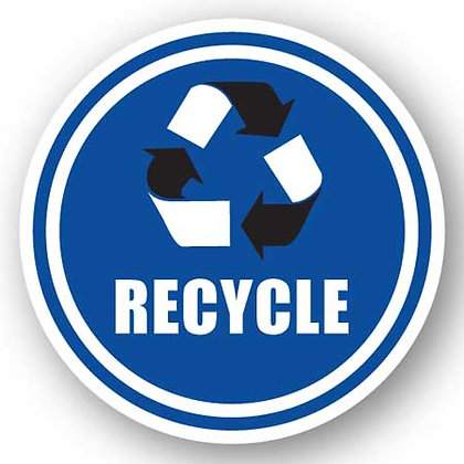 DuraStripe - Circular Safety Signs / Recycle