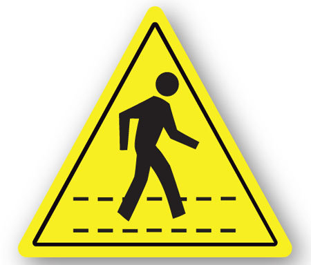 DuraStripe - Warning Signs / Pedestrian Crossing