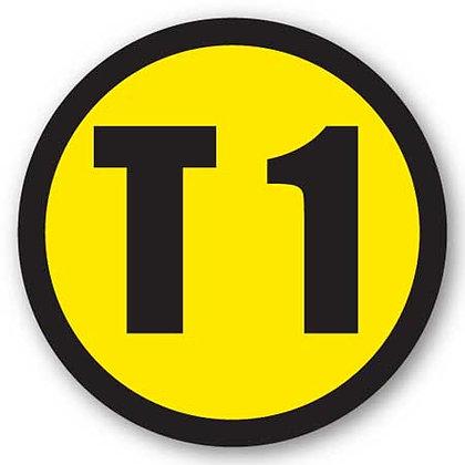 DuraStripe - Circular Safety Signs / T1