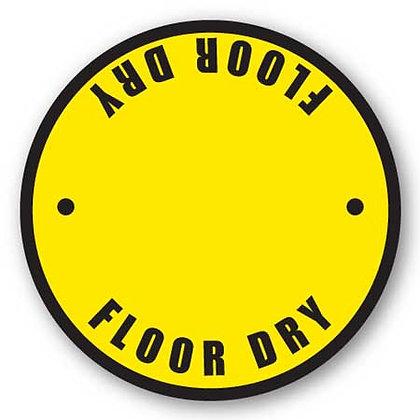 DuraStripe - Circular Safety Signs / Floor Dry