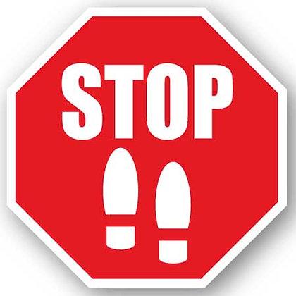 DuraStripe - Stop Signs / Stop Footprints